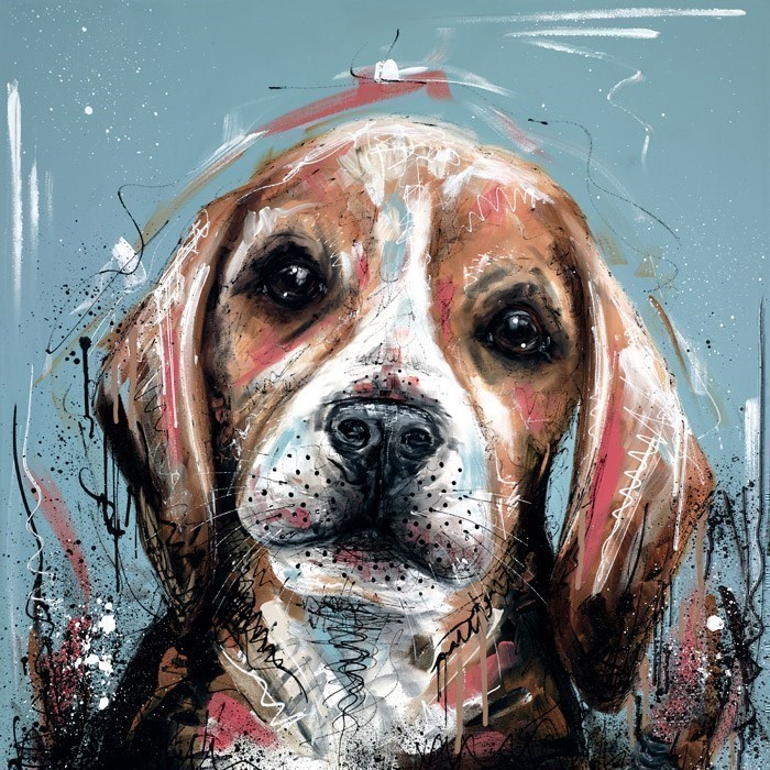 It Wasn't Me by Samantha Ellis - Hand Finished Limited Edition on Canvas sized 20x20 inches. Available from Whitewall Galleries